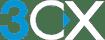 3CX_Logo_Grey_background_frei_hoehe_40px