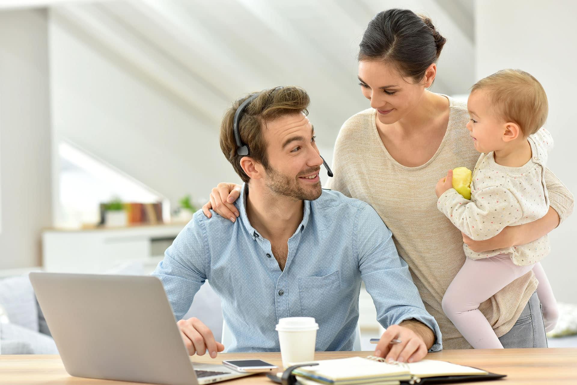 Homeoffice | Möchtest Du familienfreundlich von zu Hause aus arbeiten?